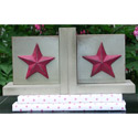 Star Bookends, Baby Bookends | Childrens Bookends | Bookends For Kids | ABaby.com