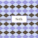 Argyle Personalized Boys Wall Art, Nursery Wall Art | Baby | Wall Art For Kids | ABaby.com