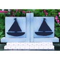 Sail Away Bookends, Baby Bookends | Childrens Bookends | Bookends For Kids | ABaby.com