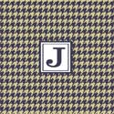 Houndstooth Personalized Wall Art, Boys Wall Art | Artwork For Boys | ABaby.com