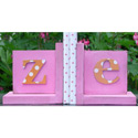 Monogram Bookends, Baby Bookends | Childrens Bookends | Bookends For Kids | ABaby.com