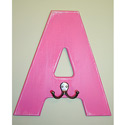 Wall Letter Hooks, Basic Kids Wall Letters | Wall Letters For Nursery | ABaby.com