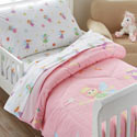 Fairy Princess Toddler Bedding Set, Girls Toddler Bedding Sets | Little Girl Bedding | Baby