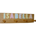 Name Clothes Hanger, Personalized Nursery Decor | Baby Room Decor | ABaby.com