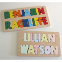 Personalized 2 Line Name Puzzle, Personalized Kids Toys | Baby Toys | ABaby.com