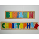Personalized Name Puzzle, Personalized Kids Toys | Baby Toys | ABaby.com
