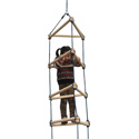 Triangular Rope Ladder, Kids Swing Set Accessories |Outdoor Swing Sets | ABaby.com