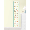ABC Jungle Growth Chart Wall Decal, African Safari Themed Nursery | African Safari Bedding | ABaby.com