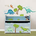 Dinosaur Expedition Wall Decal, Dinosaurs Themed Nursery | Dinosaurs Bedding | ABaby.com