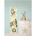 Jungle Friends Growth Chart Wall Decal, Kids Wall Decals | Baby Room Wall Decals | Ababy.com