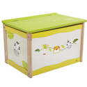 Eco-Friendly Safari Toy Box, African Safari Themed Nursery | African Safari Bedding | ABaby.com