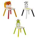 Eco-Friendly Safari Animal Chairs, African Safari Themed Toys | Kids Toys | ABaby.com