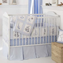 High Seas Crib Bedding Set, Crib Comforters |  Ballerina Crib Bedding | ABaby.com