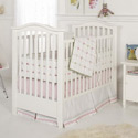 Tufted Crib Bedding Set, Baby Girl Crib Bedding | Girl Crib Bedding Sets | ABaby.com
