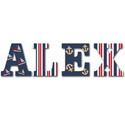 Nautical Nights Wall Letters, Customized Wall Letters | Childrens Wall Letters | ABaby.com