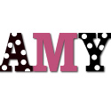 Hot Dot Wall Letters, Girls Wall Letters | Kids Wall Letters For Nursery | ABaby.com