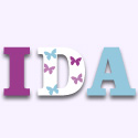 Spring Garden Wall Letters, Customized Wall Letters | Childrens Wall Letters | ABaby.com
