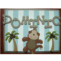 Safari Fun Name Plaque, Name Wall Plaques | Baby Name Plaques | Kids Name Plaques