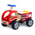Ride-On Fire Engine,