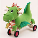 Puffy Dragon Rind-On, Toddler Bikes | Childrens Pedal Cars | ABaby.com