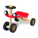 Red Buggy Car Ride-On, Toddler Bikes | Childrens Pedal Cars | ABaby.com