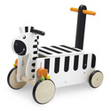 Ride-On Zebra, African Safari Themed Nursery | African Safari Bedding | ABaby.com