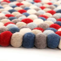 Stars and Stripes Felt Rug, Novelty Rugs | Cheap Personalized Area Rugs | ABaby.com