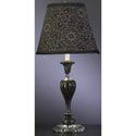 Black Lottis Blossum Lamp,