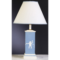 Blue Zoo Column Lamp, African Safari Themed Nursery | African Safari Bedding | ABaby.com