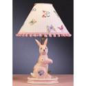 Butterfly Bunny Lamp, Bunnies Nursery Decor | Bunnies Wall Decals | ABaby.com