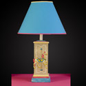 Carousel Horse Square Column Lamp,