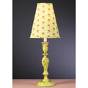 Green Posey Lamp,