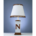 Monogram Square Column Lamp, Personalized Nursery Decor | Baby Room Decor | ABaby.com