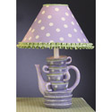 Stacked Teacups Lamp, Tea Party Nursery Decor | Tea Party Wall Decals | ABaby.com