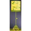 Yellow Waterlily Stick Lamp, Baby Nursery Lamps | Childrens Floor Lamps | ABaby.com