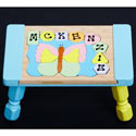 Personalized Butterfly Puzzle Stool, Butterfly Themed Toys | Kids Toys | ABaby.com
