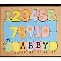 Number Name Worm Puzzle, Personalized Kids Toys | Baby Toys | ABaby.com