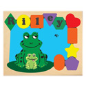 Personalized Frog Puzzle