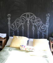 drawn headboard
