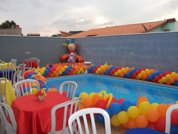 Kiddie Activity Pool Party Ideas