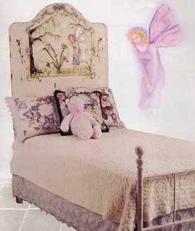 Iron Fairy Bed