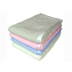 Satin Trim Fleece Baby Blankets