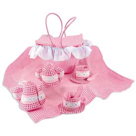 Party Dresses - Personalized Tea Party Set