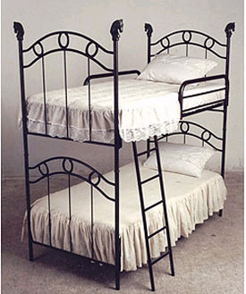 Western Iron Bunk Bed