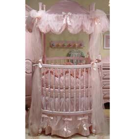 Monaco Round Crib Bedding