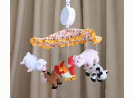 Barnyard Animals Mobile