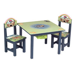 Noah's Ark Table & Chairs