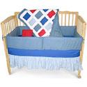 Primary Colored Five Piece Crib Set