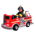 Authentic Fire Pedal Truck