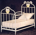 Iron Bunny Toddler Bed